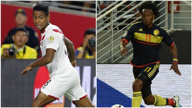 [Foto] Perú vs. Colombia: comparativo puesto por puesto de jugadores