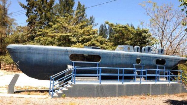 Submarino decomisado en Honduras al Cartel de Sinaloa. (Foto: AFP)