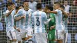 Argentina goleó 3-0 a Bolivia y clasificó primero en Grupo D - Noticias de ramiro saavedra