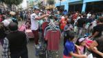 Emporio comercial de Gamarra desnuda sus riesgos [FOTOS] - Noticias de elias fullana