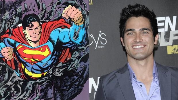 Superman: Tyler Hoechlin será el héroe en TV