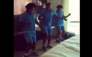 Jugadores de Colombia ya bailan para festejar ante Perú [VIDEO]