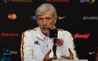 """José Pekerman: """"Jugar contra Perú es una prueba muy grande"""""""