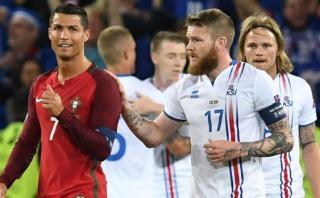 ¿Cristiano Ronaldo menospreció al capitán de Islandia? [VIDEO]
