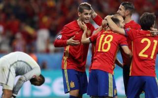 España goleó con doblete de Morata 3-0 a Turquía por Euro 2016