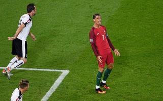 Cristiano Ronaldo falló increíble ocasión en Eurocopa 2016