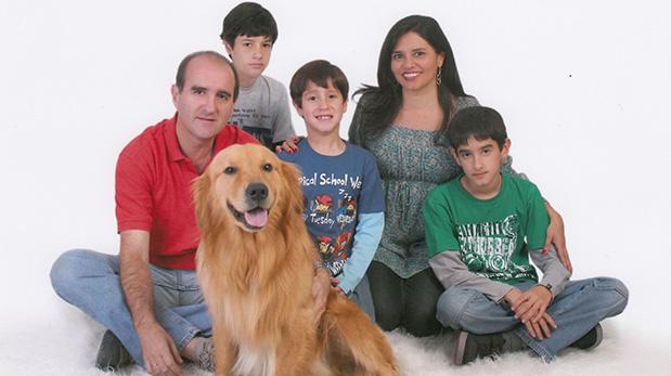 Rafael Álvarez Calderón, familia y Lucas