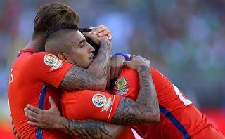 Chile humilló (7-0) a México en cuartos de la Copa América