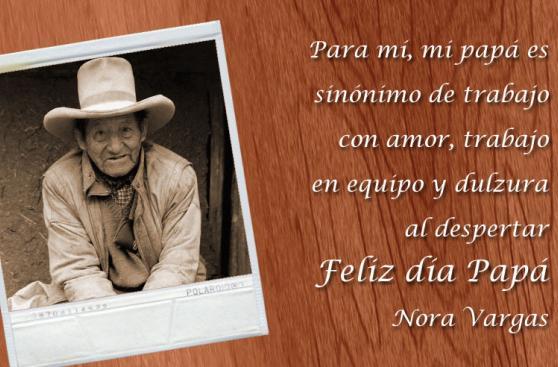 #ParaMíMiPapáEs: el saludo de los lectores por el Día del Padre