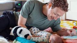 Mark Zuckerberg celebró así Día del Padre y lo subió a Facebook