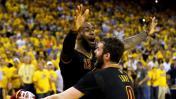 NBA: LeBron James celebró título de Cavaliers entre lágrimas