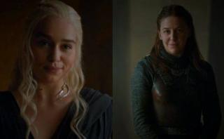 A Emilia Clarke le emocionó el coqueteo con Yara Greyjoy
