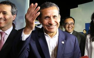 """Ollanta Humala: """"Estamos dejando la gestión en azul a PPK"""""""