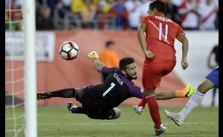 Ruidíaz: paralelos entre la mano ante Brasil y la de Maradona