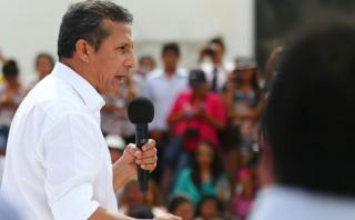 Humala: Son tonterías las denuncias de usurpación contra Nadine