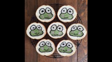 Panadero crea obras de arte con los panes que prepara