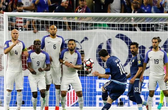 Lionel Messi: CUADROXCUADRO del fenomenal gol de tiro libre