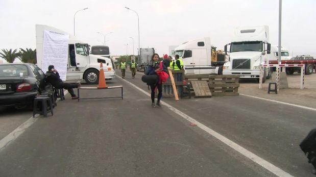 Tacna: se pierden US$500 mil al día por paro de transportistas
