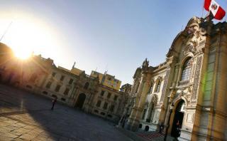 Ollanta Humala recibe a PPK en Palacio de Gobierno