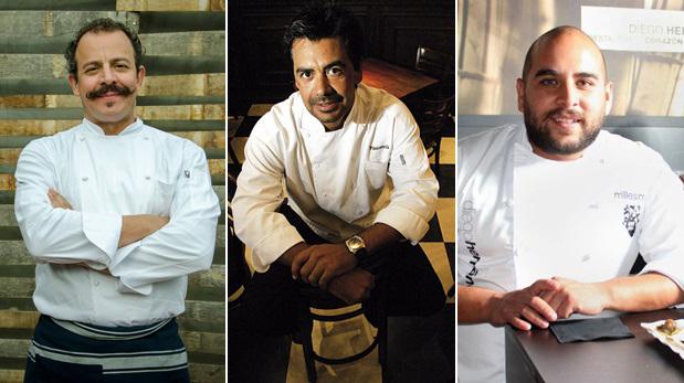 Benito Molina, Javier Plascencia y Diego Hernández son algunos de los chefs que llegarán para Mistura 2016. (Foto: Difusión)