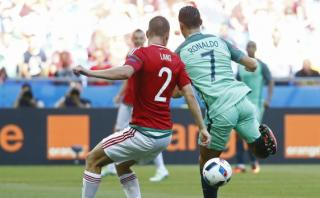 Cristiano Ronaldo se luce con golazo de taco en la Euro [VIDEO]
