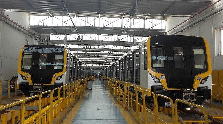 Estos son los primeros trenes de la Línea 2 del Metro de Lima