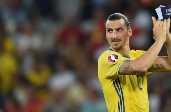 Zlatan Ibrahimovic le dijo adiós a Suecia y a la Eurocopa 2016