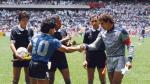 """Maradona: CUADROxCUADRO de 'la mano de Dios' y """"gol del siglo"""" - Noticias de peter shilton"""