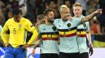 Bélgica derrotó 1-0 a Suecia y avanzó a los octavos de final - Noticias de andreas isaksson