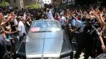 NBA: espectacular desfile de Cavaliers ante miles de fanáticos - Noticias de miami heat lebron james
