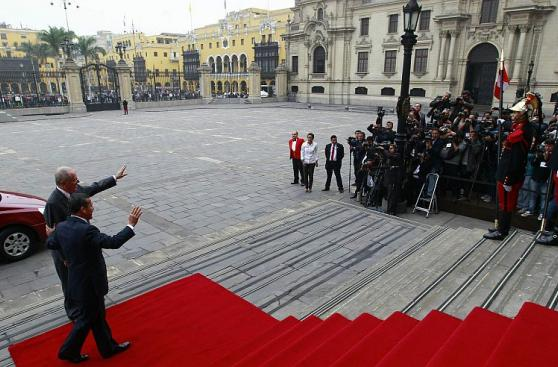 Las postales del encuentro entre Ollanta Humala y PPK