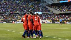 Así sufrieron relatores colombianos con goles de Chile [VIDEO]