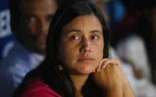 """Verónika Mendoza: """"Hay elementos serios"""" contra Nadine Heredia"""