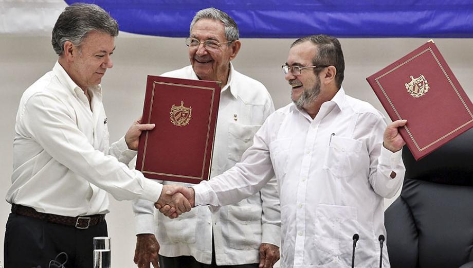 La paz se hizo posible: Colombia y FARC firmaron pacto en Cuba