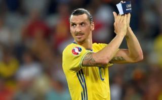 Zlatan Ibrahimovic se despidió de Suecia con este mensaje