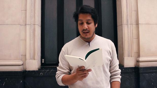 Renato Pita nos lee dos poemas