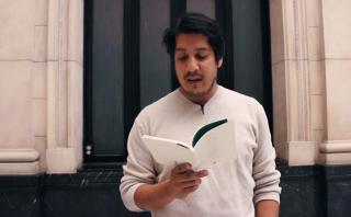 Renato Pita nos lee dos poemas [VIDEO]