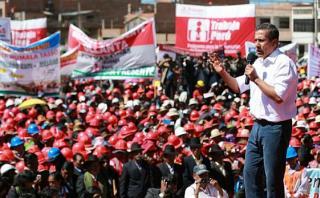Ollanta Humala: Después del 28 de julio el blanco seré yo