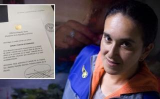 Sonaly Tuesta: presidente Ollanta Humala le envió este mensaje