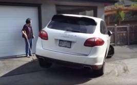 Error de joven conductor arruinó camioneta de US$80 mil [VIDEO]
