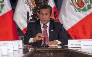 Fiscalía investigará a Ollanta Humala por lavado de activos