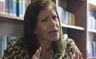 """Lourdes Flores: """"Sentí a Ollanta Humala muy a la defensiva"""""""
