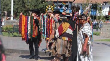 """Inti Raymi: PPK participó en el """"Encuentro de dos tiempos"""""""