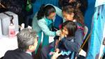 Ticlio Chico: Minsa vacunó a más de 5 mil niños y ancianos - Noticias de percy minaya