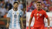 Argentina vs. Chile: chocan por el título de la Copa América