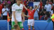 Gales venció 1-0 a Irlanda del Norte y avanzó a cuartos de Euro