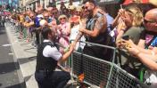 Policías de Londres se comprometen en desfile de orgullo gay