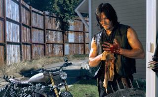 """""""The Walking Dead"""": Daryl estuvo cerca de no conducir una moto"""