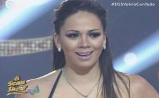 """""""El gran show"""": Melissa Klug sorprende con coreografía de DLG"""
