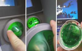 Vio algo sospechoso cuando retiraba dinero de cajero [VIDEO]